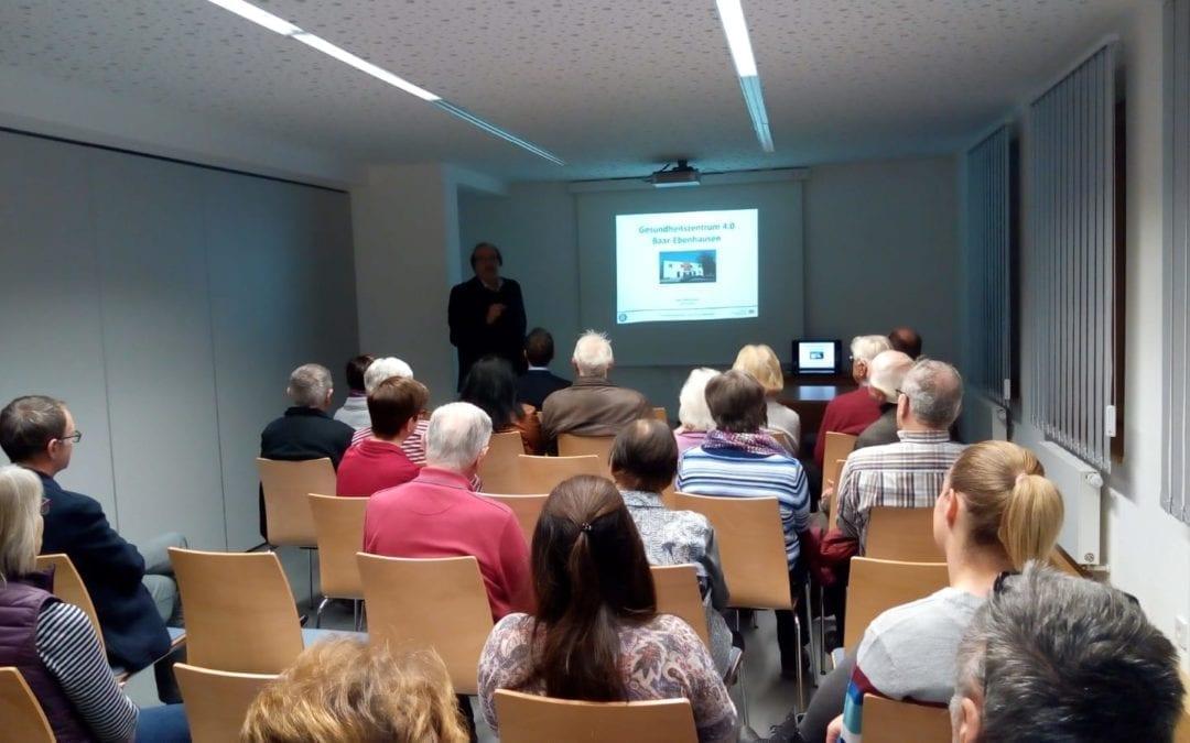 Gesundheitszentrum 4.0 zu Gast bei der Gemeinde Baar-Ebenhausen