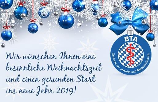 BTA wünscht frohe Weihnachten