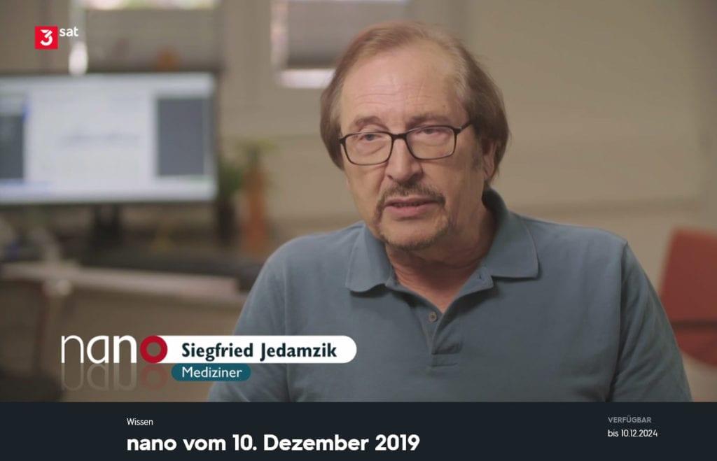 """nano Beitrag - """"Wearables"""" in der Medizin mit Prof. Dr. med. Siegfried Jedamzik"""