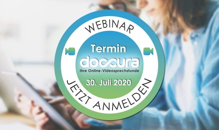 Webinar: Doccura – Ihre Online-Videosprechstunde