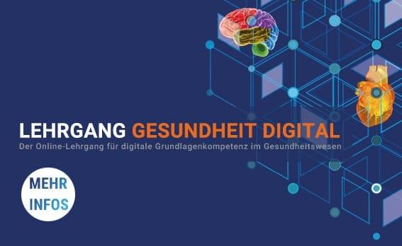 Online-Lehrgang für digitale Grundlagenkompetenz im Gesundheitswesen