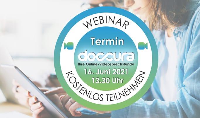 Doccura Online-Videosprechstunde | Live Webinar
