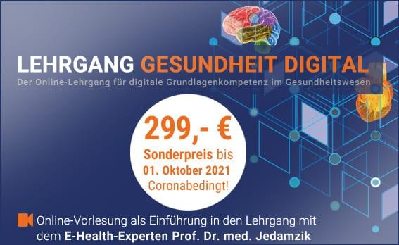 Lehrgang Gesundheit Digital